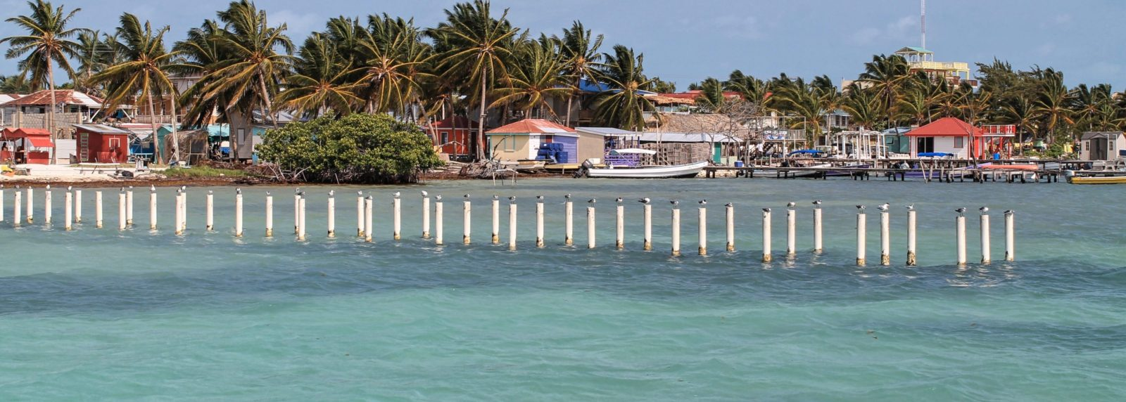 Caye Caulker offers beautiful coastlines with a relaxed atmosphere.