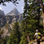 Grand Teton National Park Garnet Canyon Hiking
