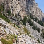 Grand Teton National Park Garnet Canyon
