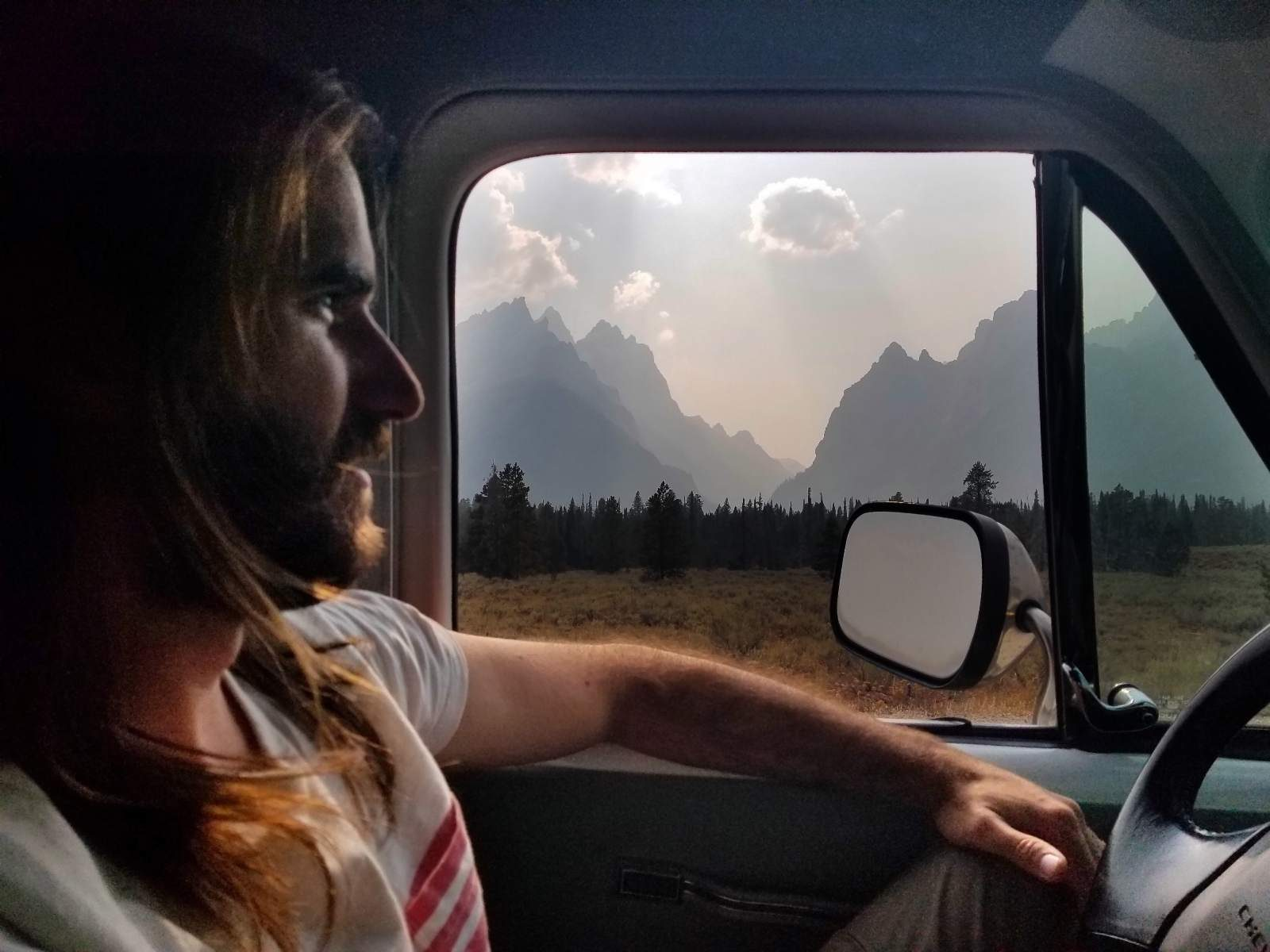 Grand Teton National Park Campervan