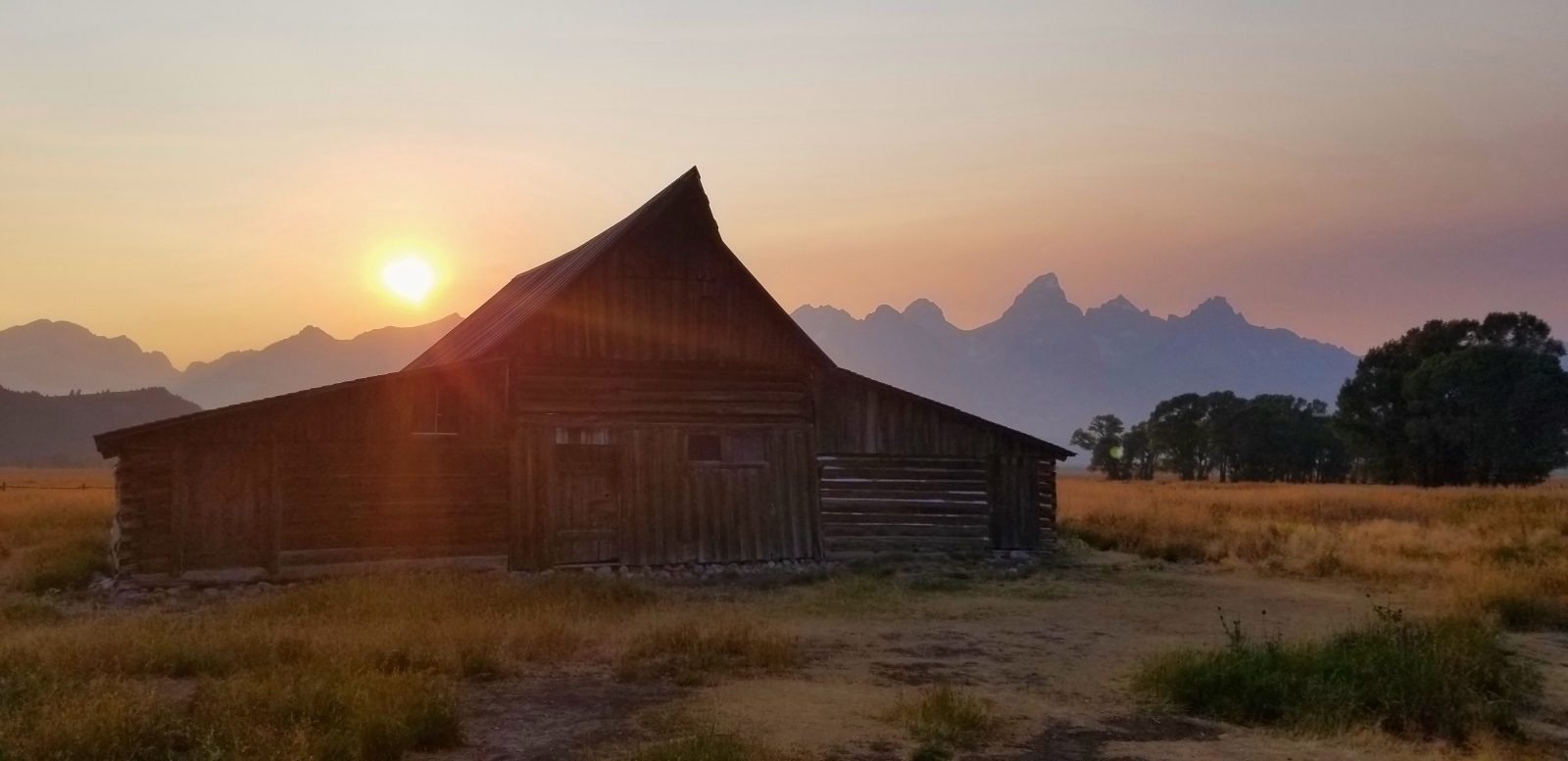 Grand Tetons National Park Mormon Cabin