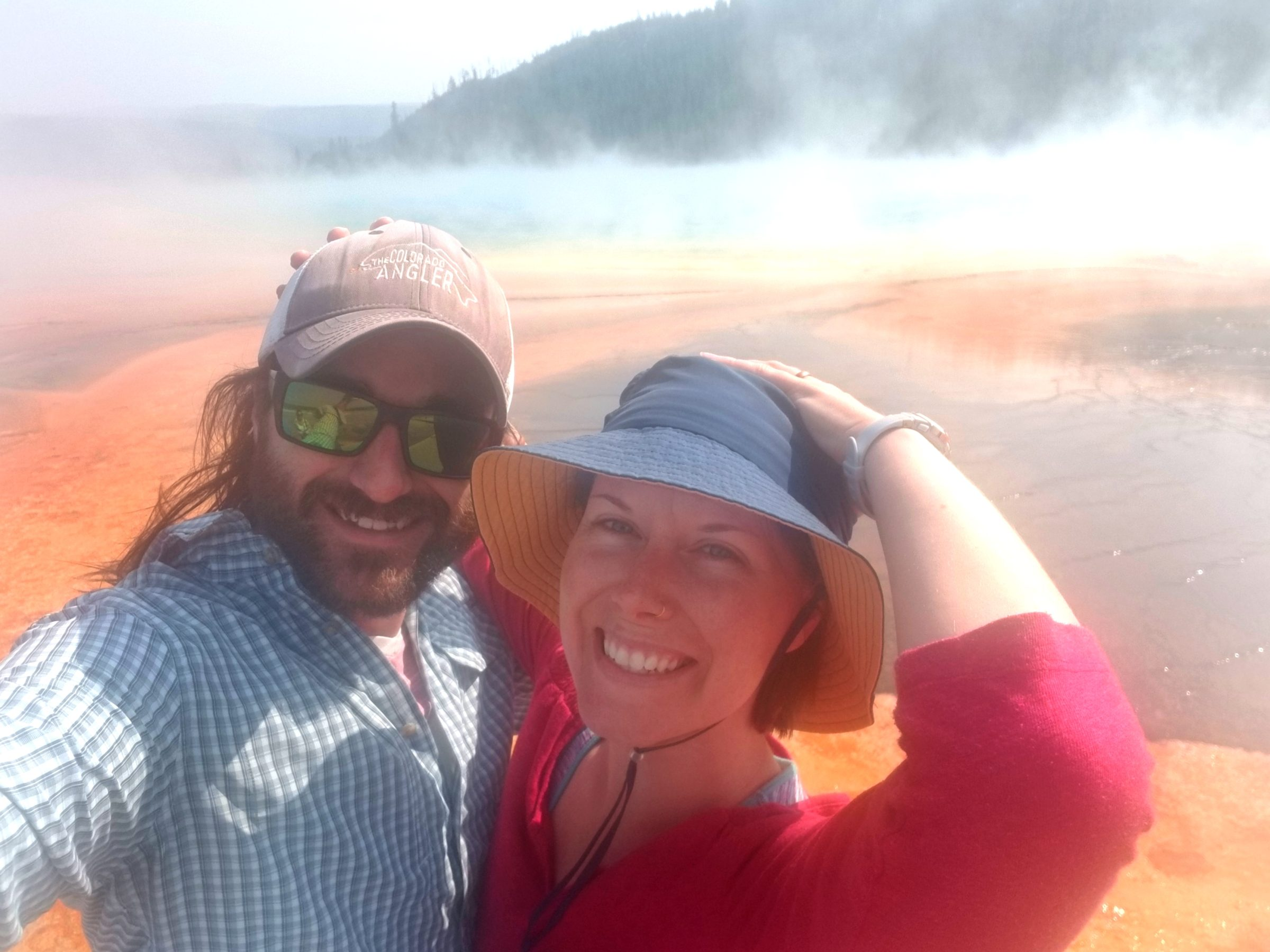 Grand Prismatic Top 10 Things to Do in Yellowstone