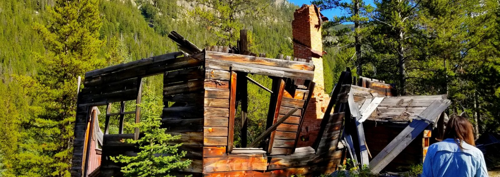 Coolidge Southwestern Montana ghost town is remotely located in a national forest.