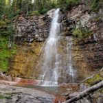 Virginia Falls in Glacier National Park
