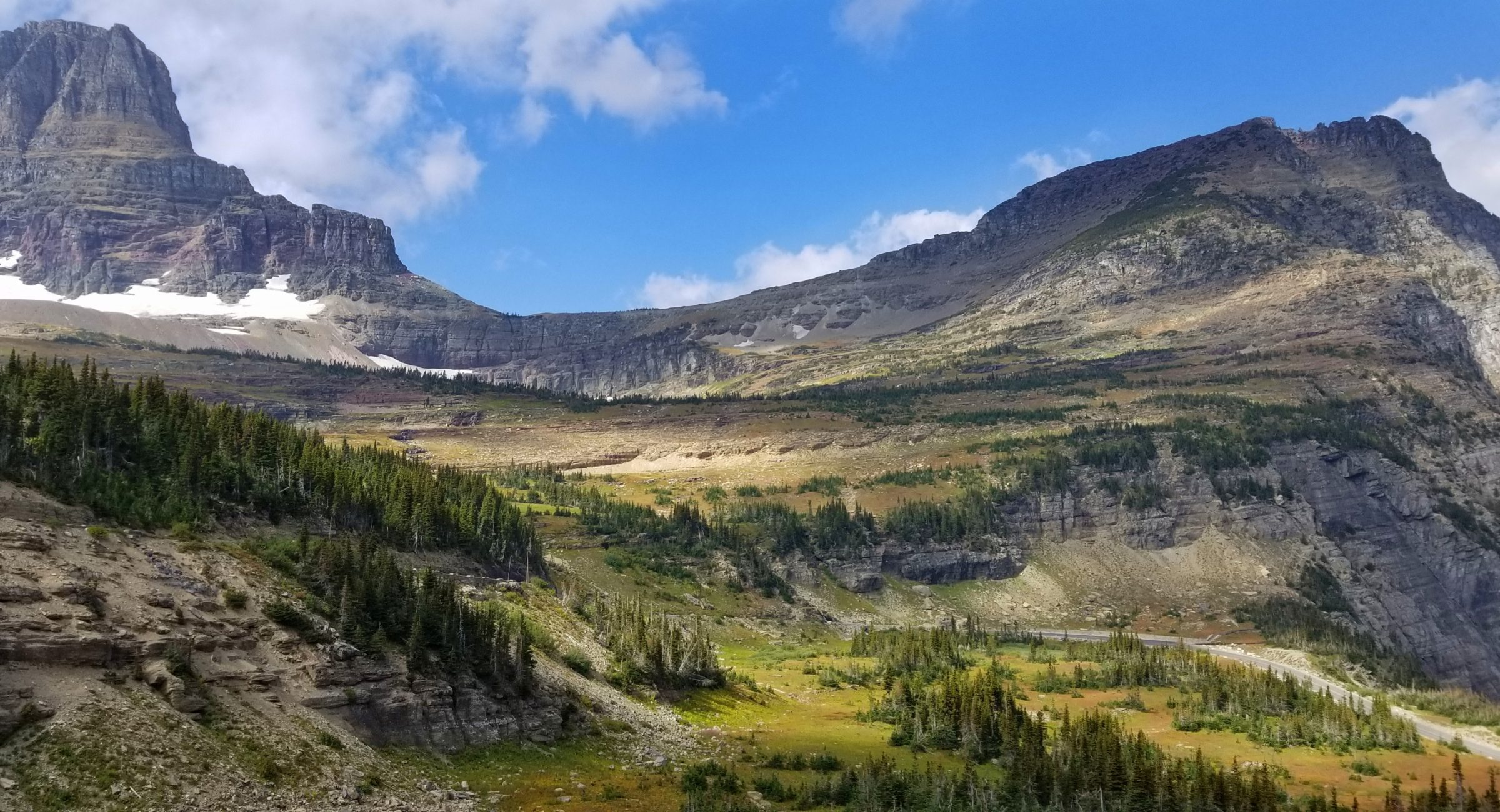 Glacier National Park is rugged and beautiful.