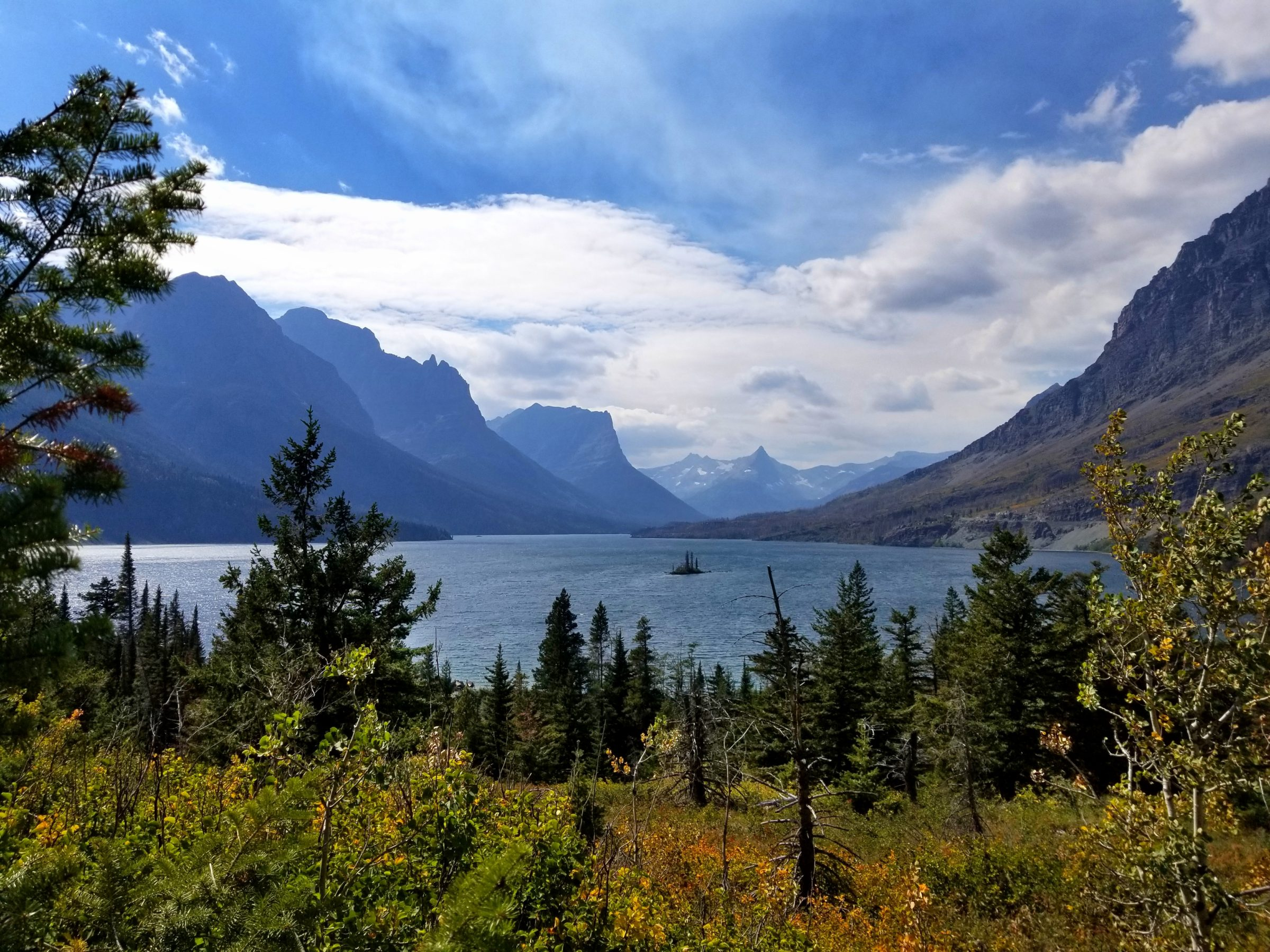 Wild Goose Island Lookout views in Glacier National Park