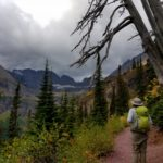 Making our way up to Grinnell Glacier