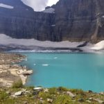On top of the world and overlooking Grinnell Glacier