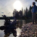 Exploring Holland Lake in Montana