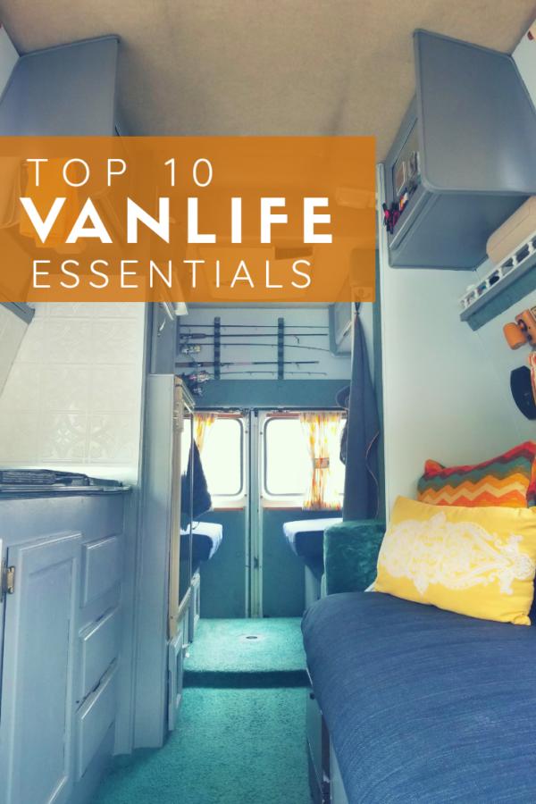 Pin the Practical Vagabonds' Top 10 Vanlife Essentials!