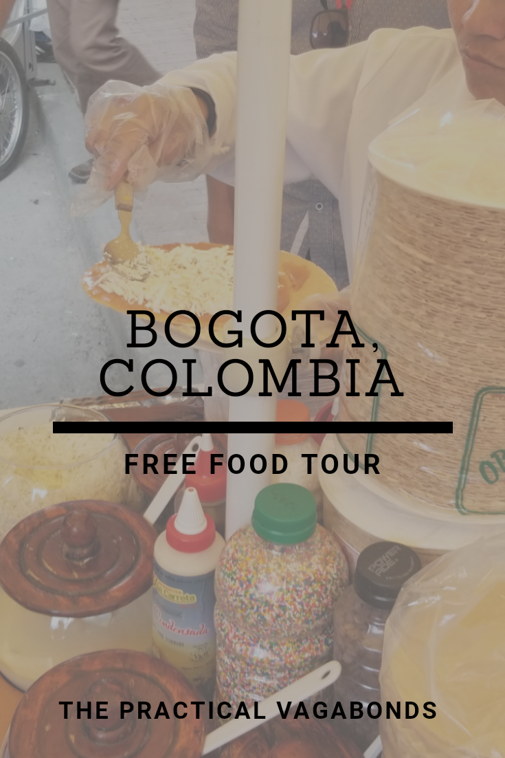 Find out where you can get a free food tour in Bogota, Colombia!