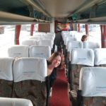 Taking the intercity bus from Bogota to San Gil