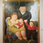 Family painting at the Botero Museum