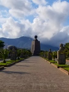 Mitad Del Mundo might be worth a stop even though it does not accurately mark the Ecuador equator.