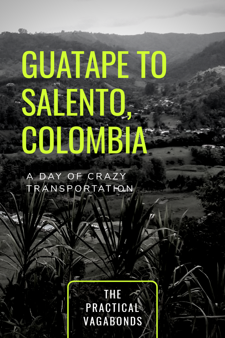 Pin this! Guatape to Salento Transportation