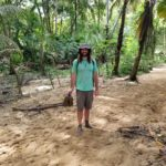 Plan on getting covered in mud when hiking through Tayrona National Park