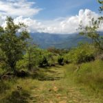 Guane peeping through the distance during our El Camino Real hike