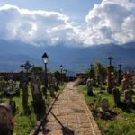 Beautiful views from the cemetery in Guane