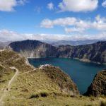 Quilotoa Volcano Crater