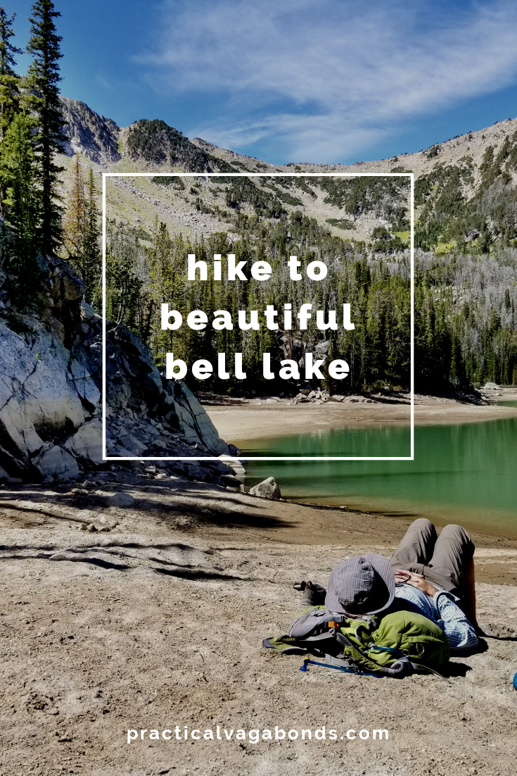Planning a Montana road trip? Don't miss out on free camping and great hiking at Bell Lake. #montanaroadtrip #montanahiking #montanacamping
