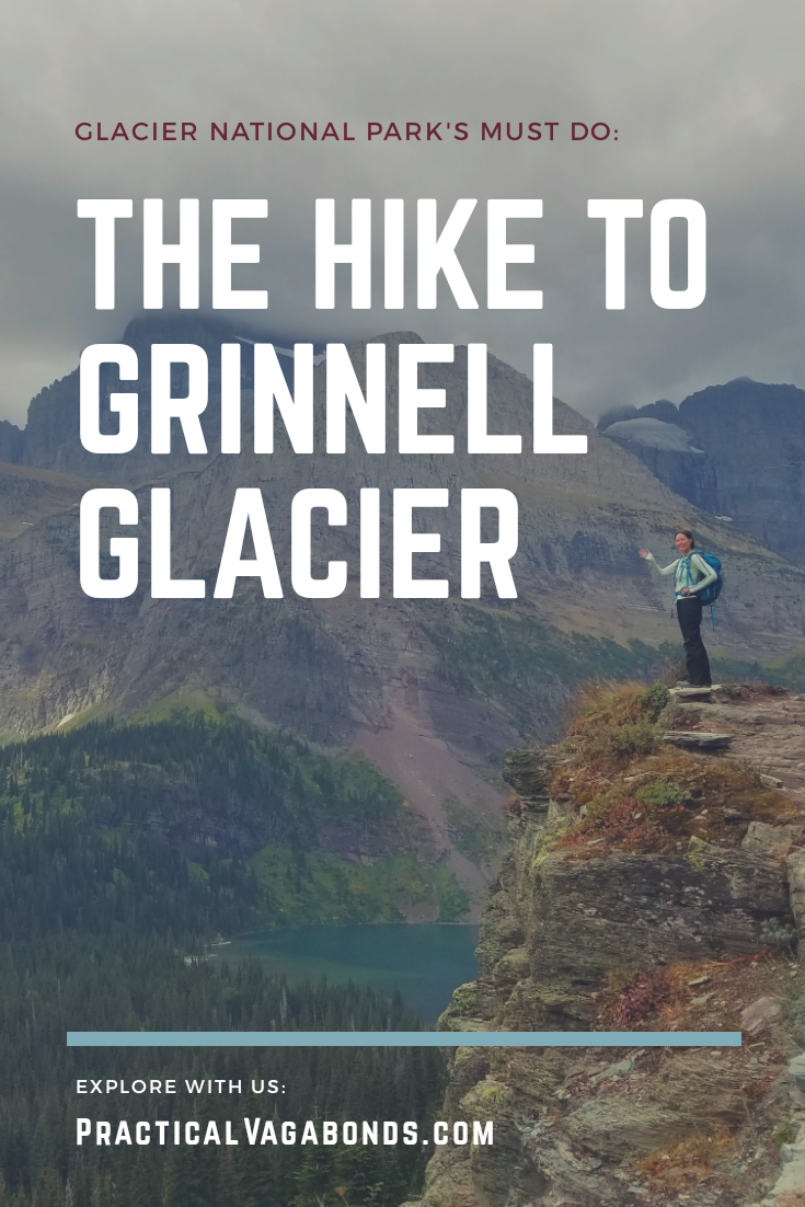 If you are thinking about visiting Glacier National Park - you should! While there check out our favorite day hike in all of Montana, Grinnell Glacier. #GlacierNationalPark #GrinnellGlacier #dayhikes #nationalparks