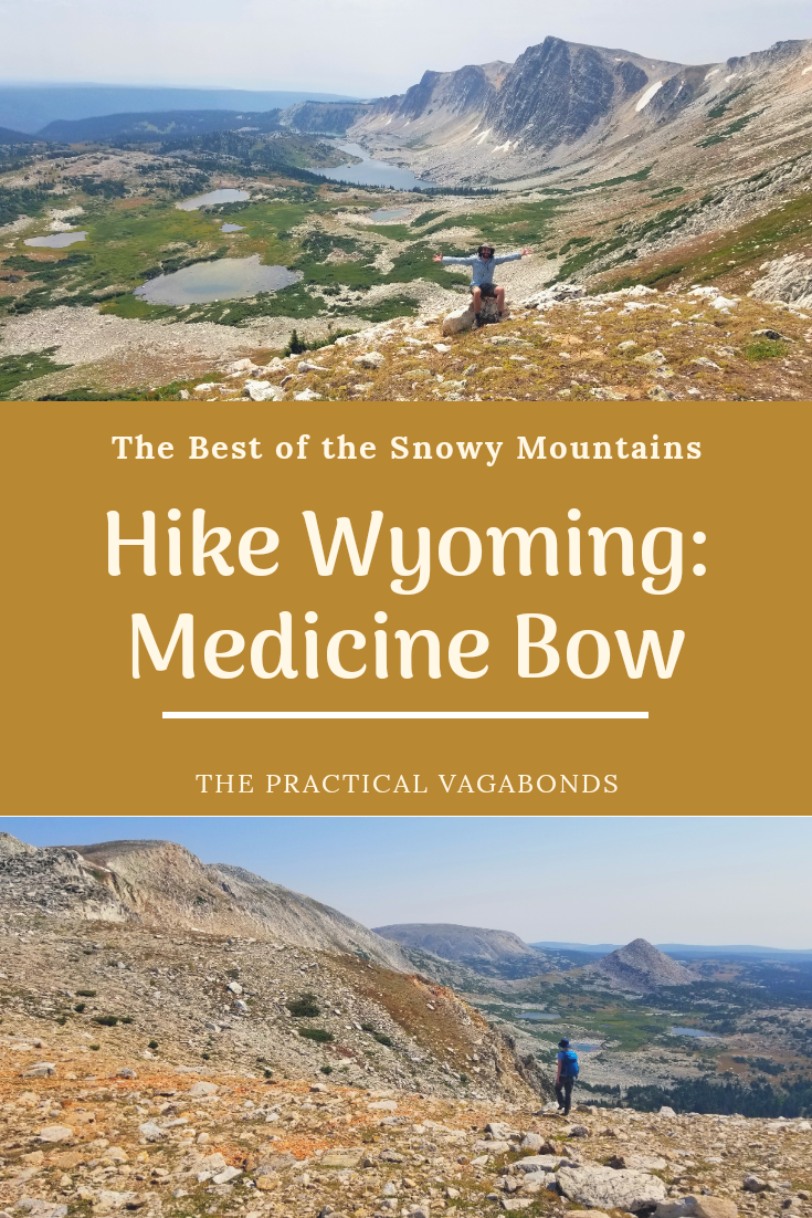 Beautiful hiking waits for you in Medicine Bow National Forest Wyoming! #wyominghiking #wyomingroadtrip #wyomingcamping #nationalforests