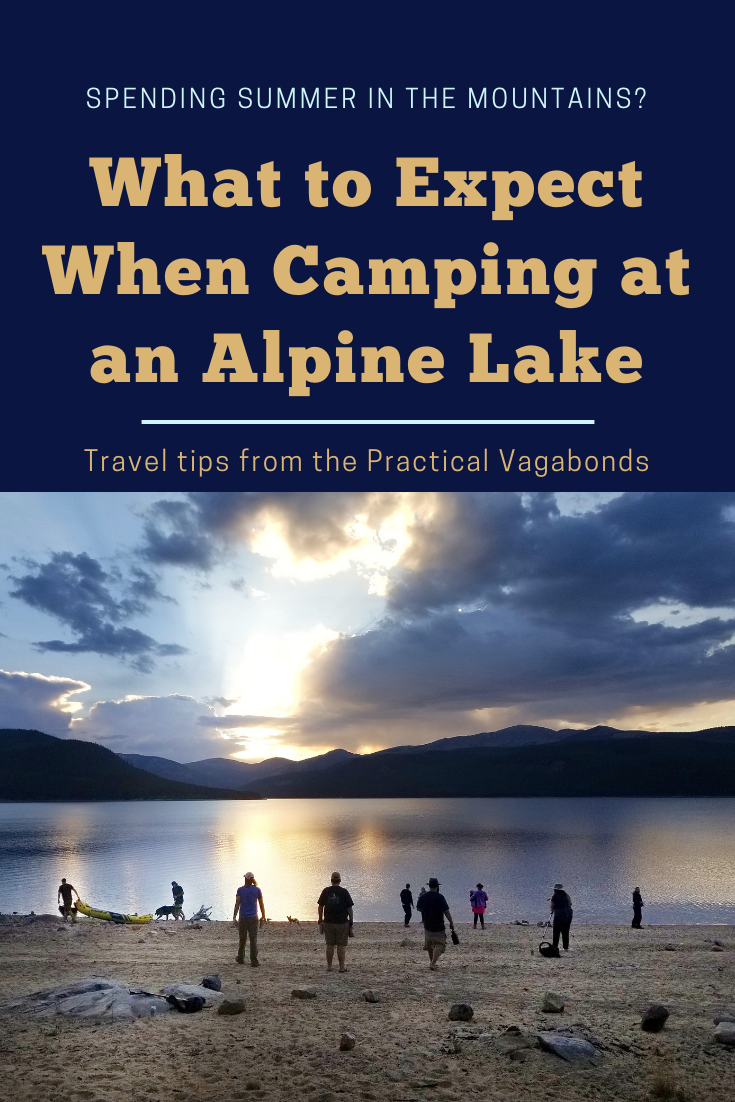 Check out our favorite spot in Colorado to camp with friends and learn what to expect if you decide to camp at this or any other alpine lake. #camping #campingcolorado #nationalforest