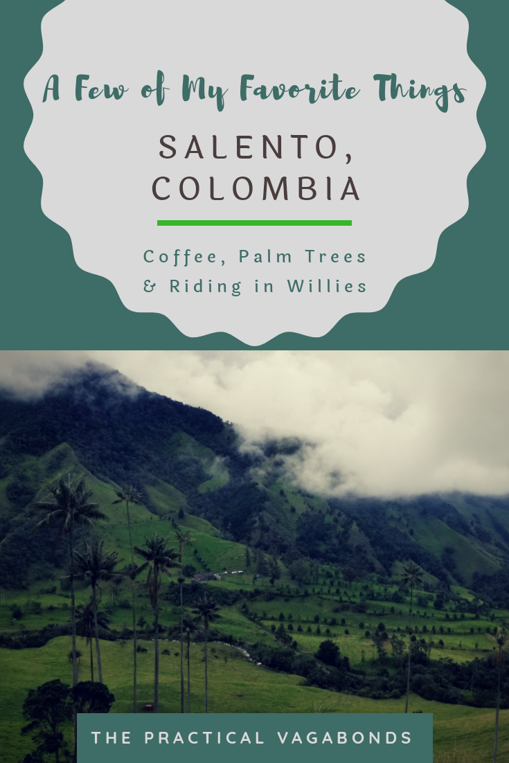 Visit the world's tallest palm trees, coffee farms and more in Salento, Colombia! #salento #colombiatravel #colombia #southamericatravel #southamerica