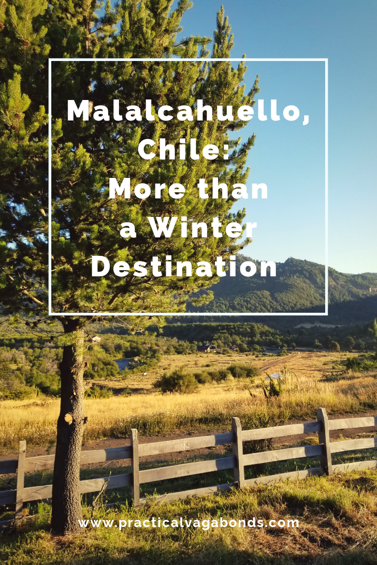 Situated near monkey puzzle forests and volcanoes, you wont be disappointed with a visit to Malalcahuello, Chile! #volcanoes #hikingsouthamerica #chilehiking #visitchile #roundtheworldtravel
